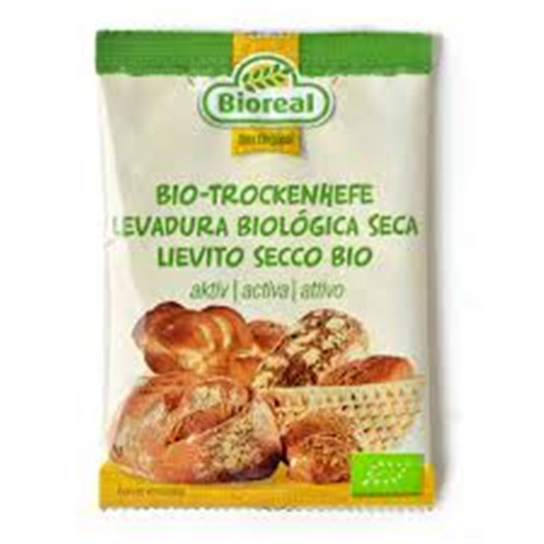 Levadura para pan y bollería, 10 gr