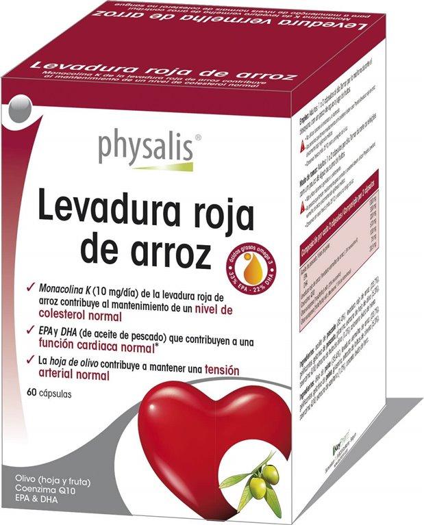 Levadura Roja De Arroz, 30 gr