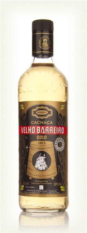 Licor Cachaça Velho Barreiro Gold