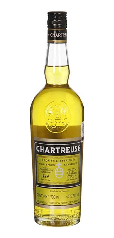 Licor Chartreuse Amarillo 0.7 L