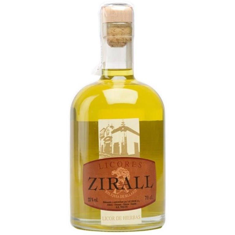 Licor de Hierbas  Zirall, 1 ud