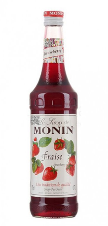 Licor Monin Fresa