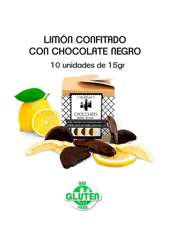 LIMÓN CONFITADO CON CHOCOLATE NEGRO