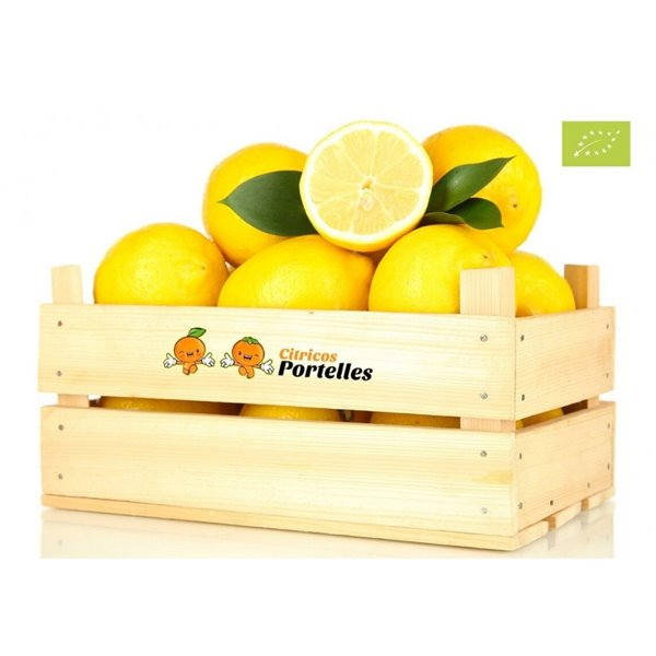 Limón ecológico - caja 8kg