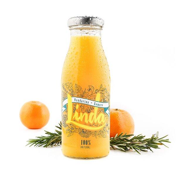 Linda Mandarina (mandarina + romero) 250ml. Linda. 24un.