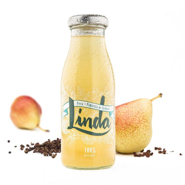 Linda Pera (pera + pimienta de sechuan) 250ml. Linda. 24un., 1 ud