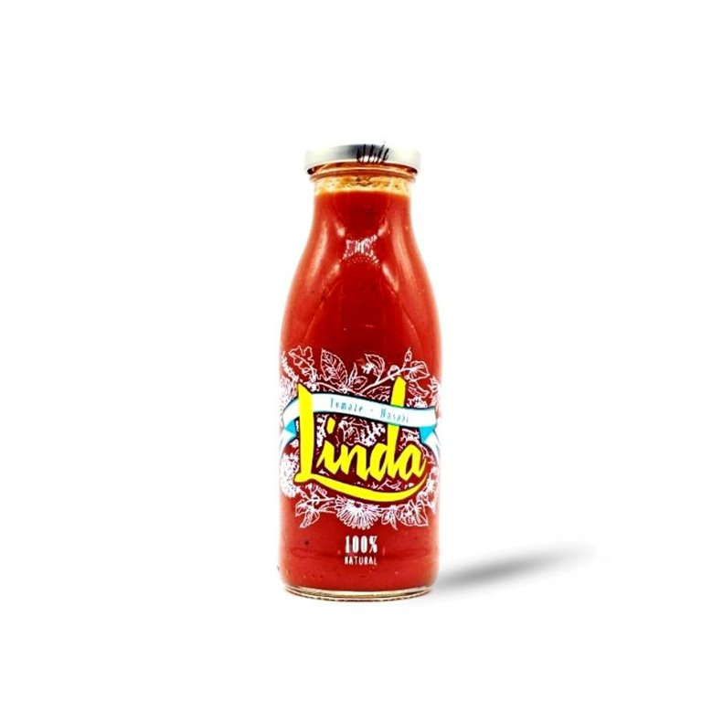 Linda Tomate (Zumo de Tomate y Wasabi) 250 ml., 1 ud