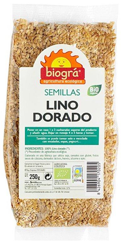 Semillas de Lino Dorado Bio 250ml, 1 ud