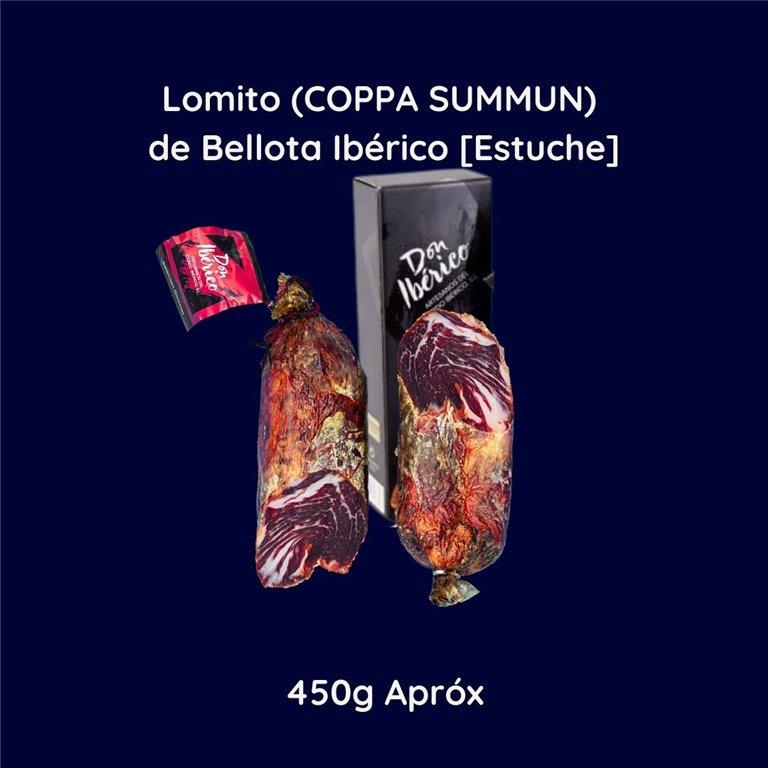 Iberian Acorn-fed Pork Tenderloin (COPPA SUMMUN) [Case] 450g approx