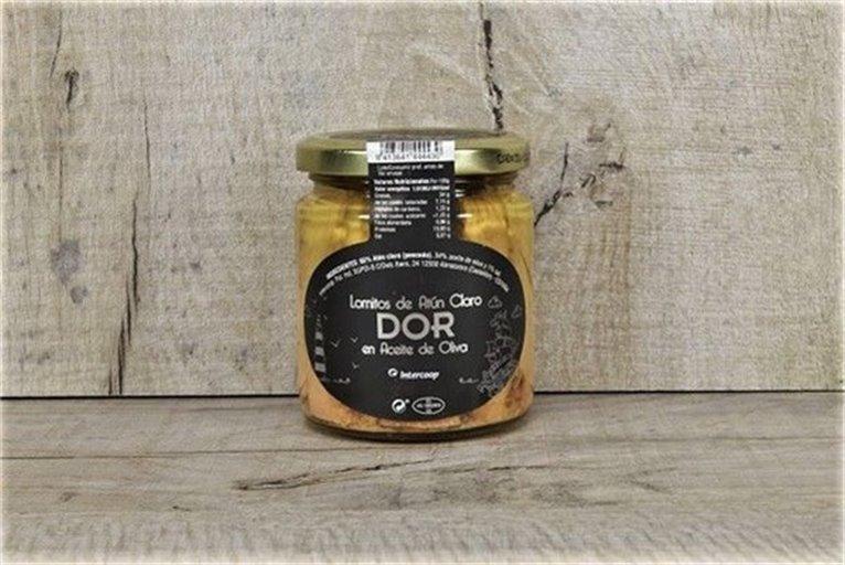 Lomitos de atún en aceite de oliva DOR