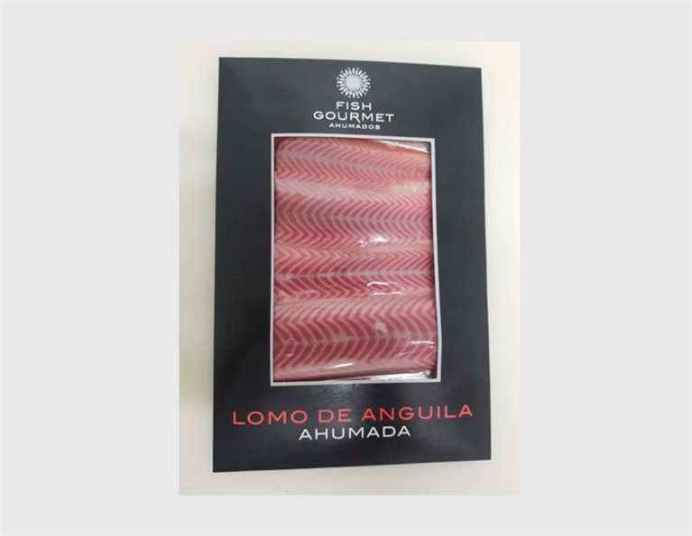 Smoked Eel loin blister 150 grs