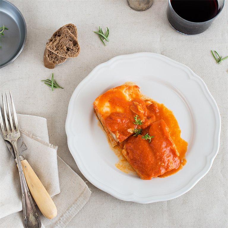 Lomo de bacalao con tomate - 350 g.