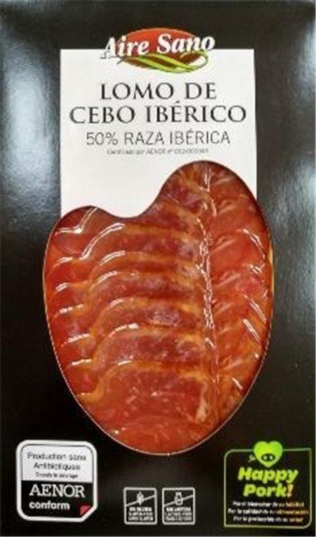Lomo de cebo ibérico loncheado Airesano