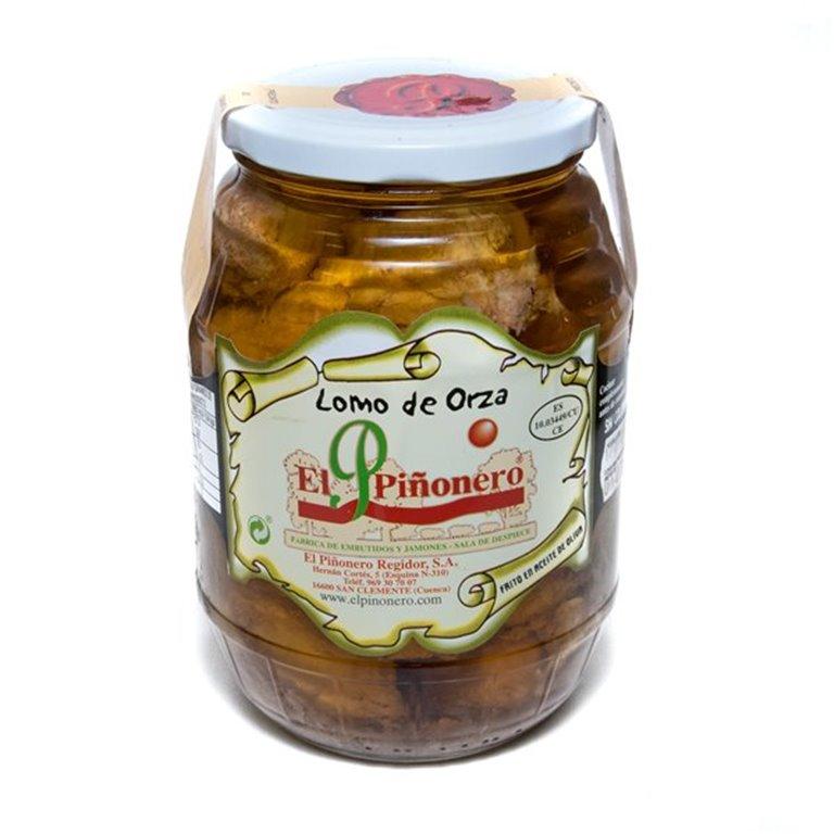 Lomo de Orza en aceite de oliva, 1 ud