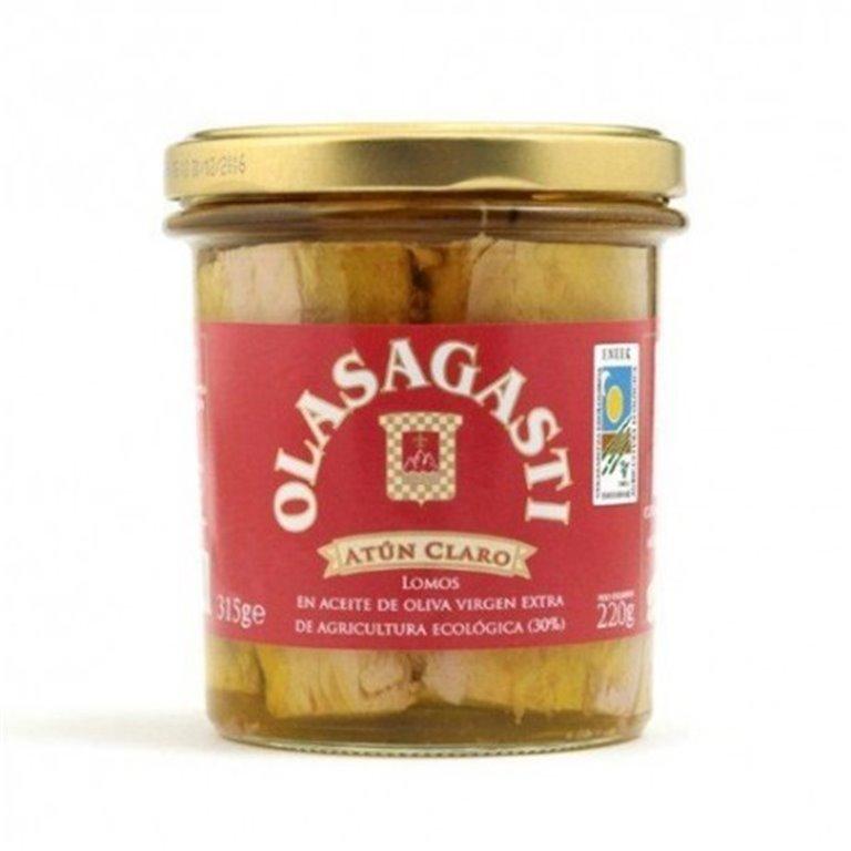 Lomos De Atun Claro Con Aceite De Oliva, 1 ud