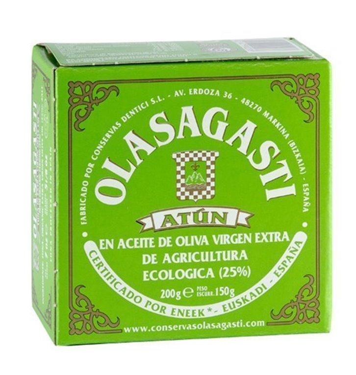Lomos de atun claro en aceite de oliva, 1 ud