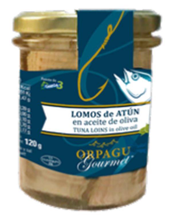 Lomos de atún de anzuelo Orpagu