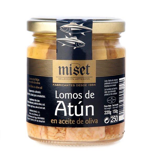 """Lomos de Atún en Aceite de Oliva """"Miset"""""""