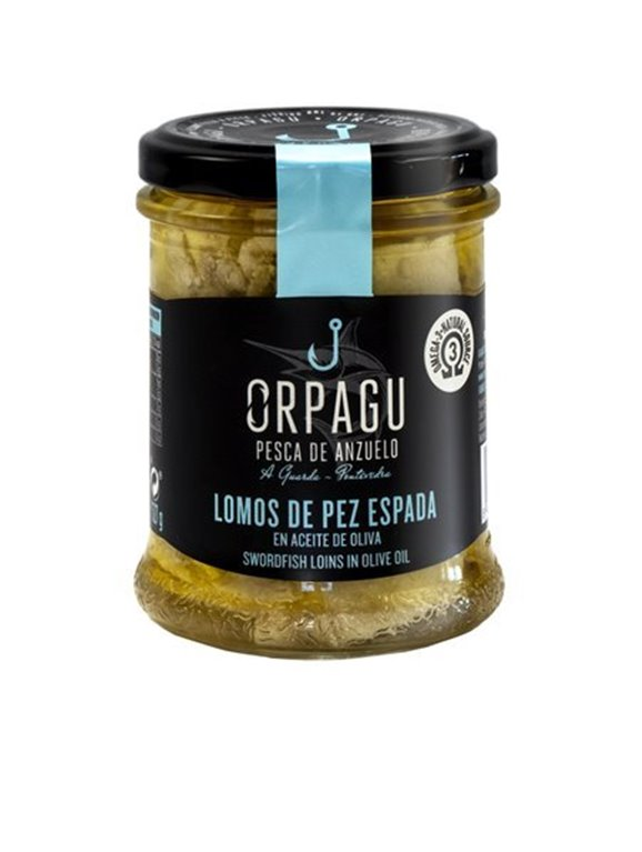 LOMOS DE PEZ ESPADA EN ACEITE DE OLIVA // SWORDFISH LOINS IN OLIVE OIL