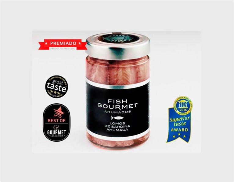 Smoked Sardine Loins Glass Jar 175 grams