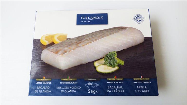 Lomos selectos de bacalao ultracongelados
