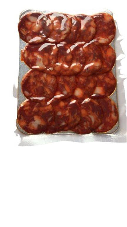 "Loncheado de Chorizo Cular Bellota Ibérico ""Fran Rodel"" D.O. Guijuelo - Salamanca 100 grs."