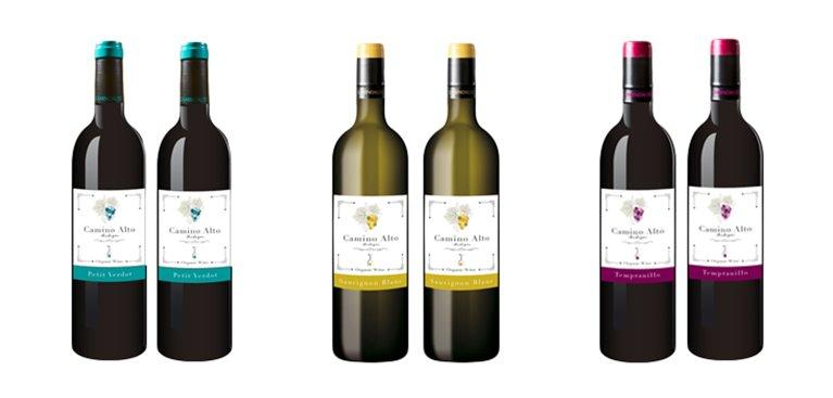 Lote 6 Botellas  de Vino Camino Alto