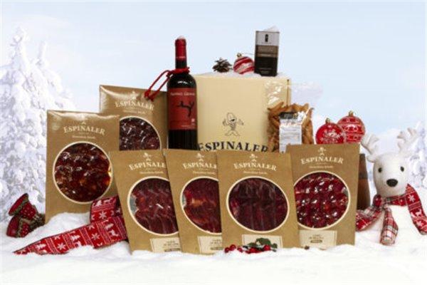 Lote de Navidad Gourmet Ibéricos 80