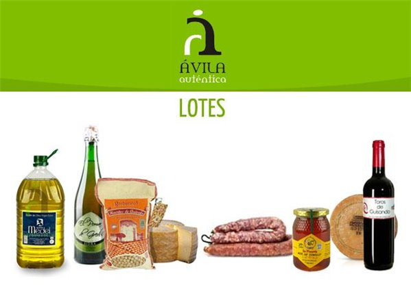 Lote de productos de Ávila