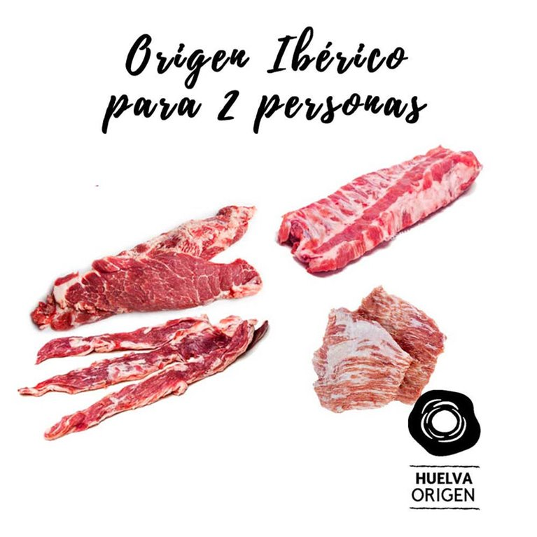 Iberian Origin Lot for 2 people