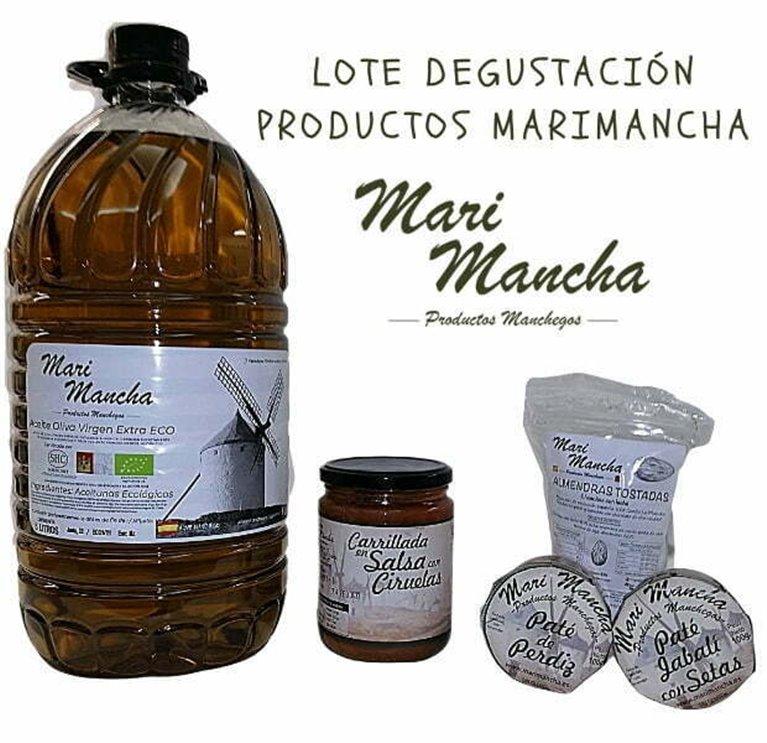 Lot products Marimancha Tasting