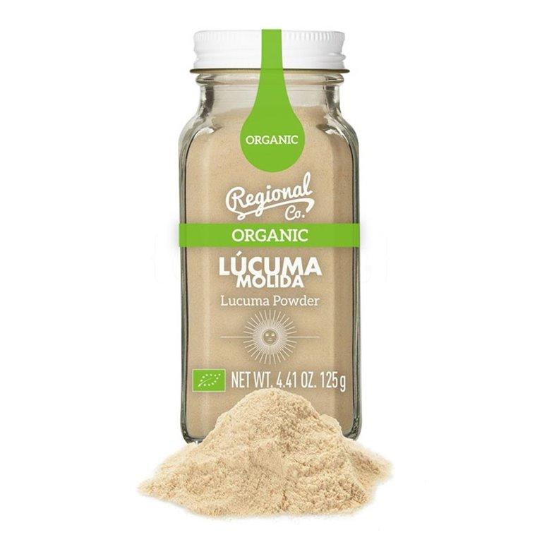 Lúcuma Orgánica Molida 125gr. Regional Co. 6un., 1 ud