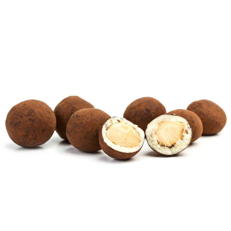 Macadamias con Chocolate recubiertas de Cacao