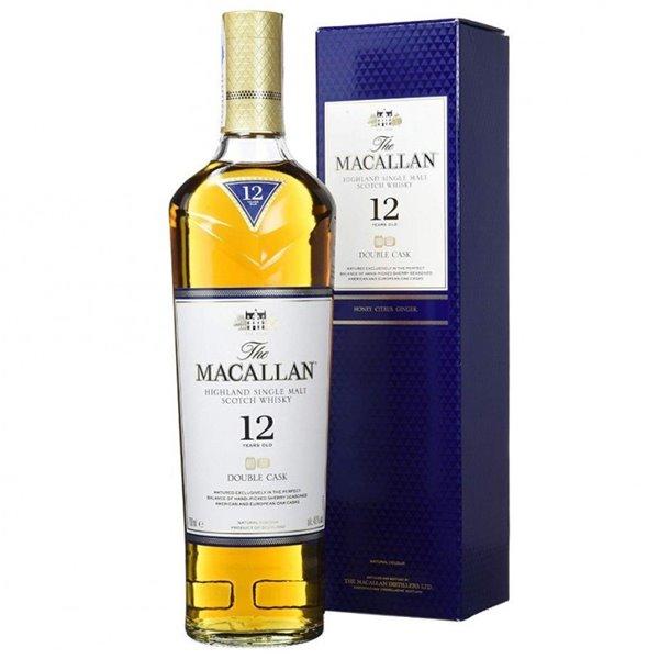 MACALLAN 12 YO DOUBLE CASK 0,70 L. + ESTUCHE