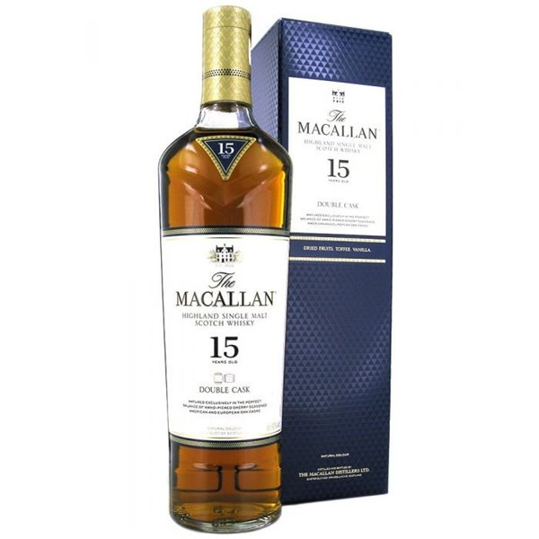 Macallan 15 años Double Cask