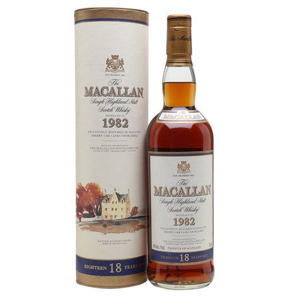 Macallan Collection 18 Años Distilled 1982 - Collection