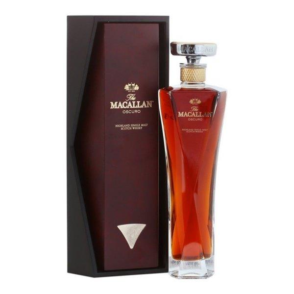 MACALLAN OSCURO 1824 0,70 L. + ESTUCHE