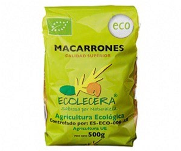 Macarrón ecológico Ecolecera