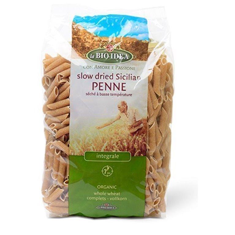Macarrones integrales de trigo, 500 gr