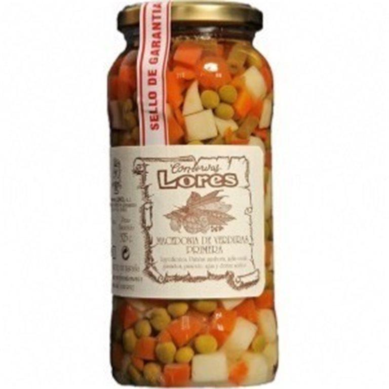 Macedonia de verduras Lores