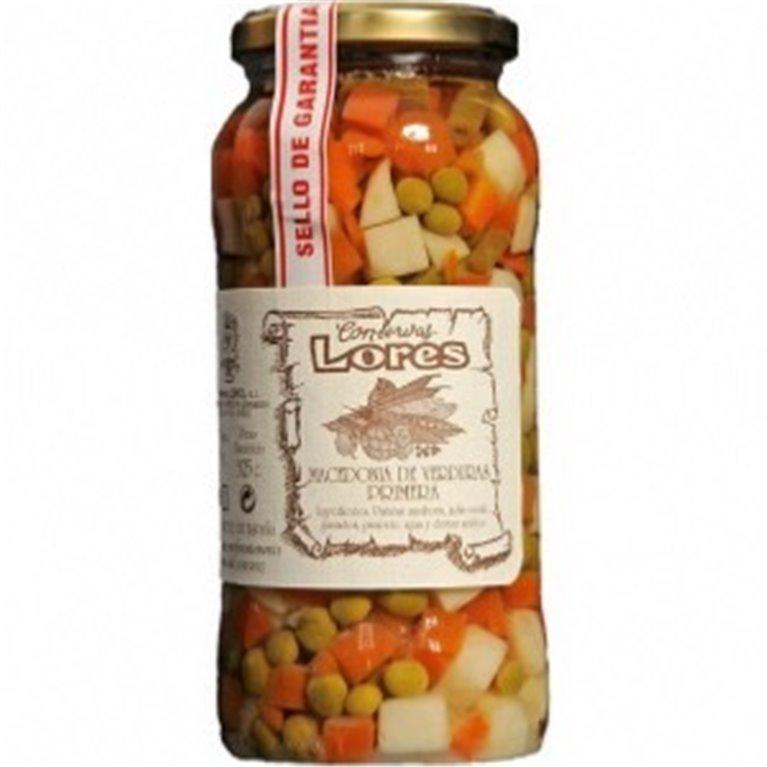 Macedonia de verduras Lores, 1 ud