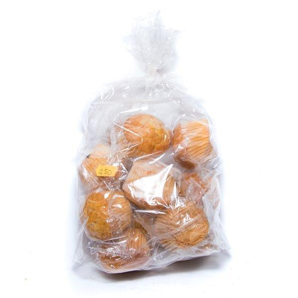 Magdalenas integrales (sin azúcar, sin gluten, 400 gr)