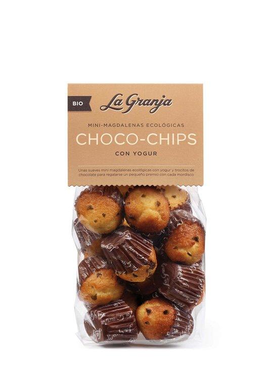 Magdalenas pequeñas Chips Choco yogur