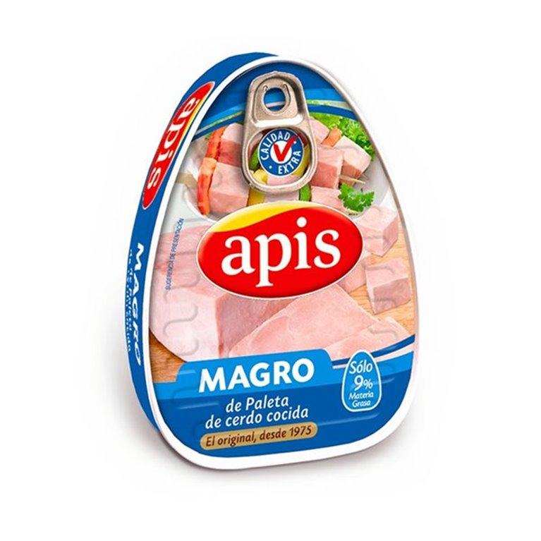 Magro de paleta de cerdo cocida (solo 9% M.G.)