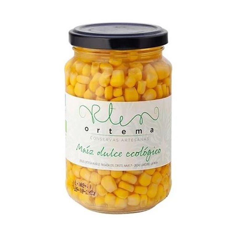 Maiz Dulce Ecológico Frasco 370 ml
