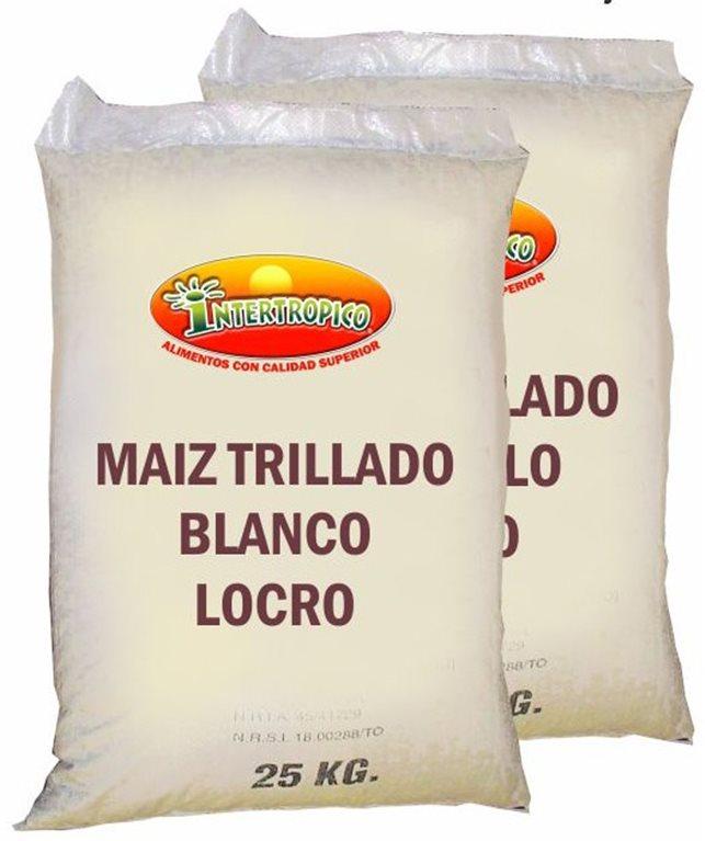 MAIZ TRILLADO  BLANC INTERT X 25KL