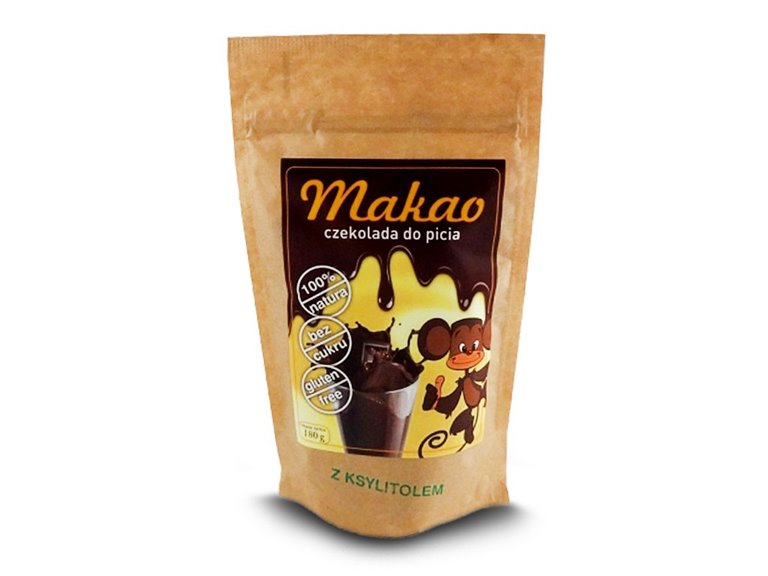 MAKAO - CACAO INSTANT CON XILITOL 180G