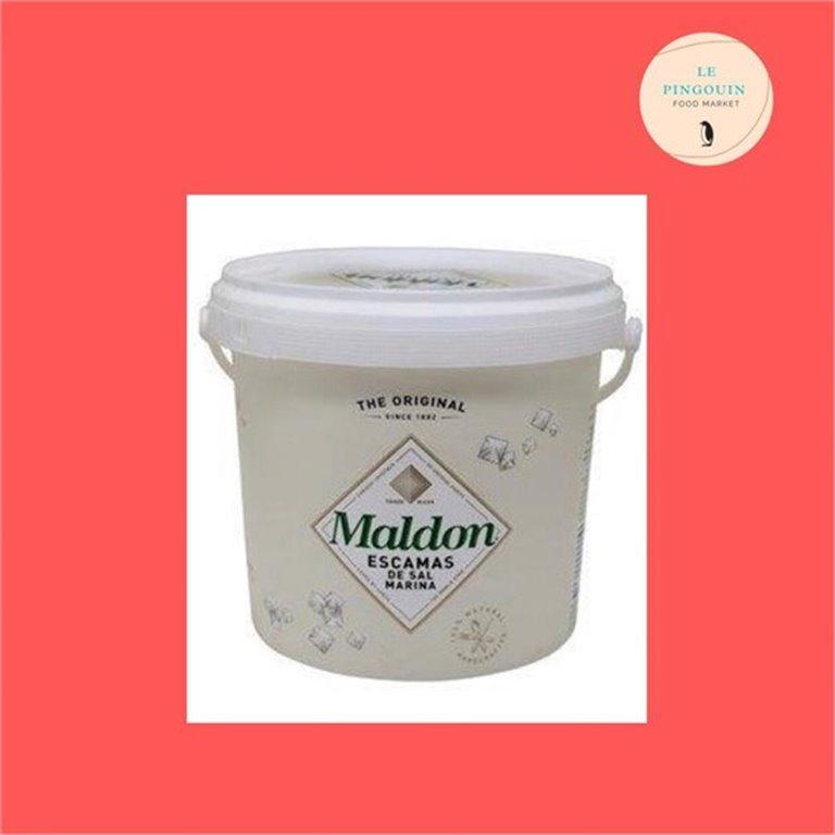 Maldon sal cubo de 570 gr, 570 gr