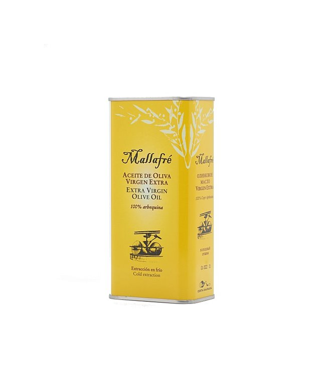 Mallafré Arbequina Olive Oil 50cl can
