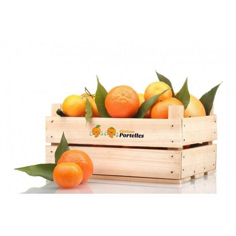 Mandarina ecológica - caja 8kg, 1 ud